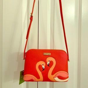 NWT Kate Spade ♠️ Flamingo Purse
